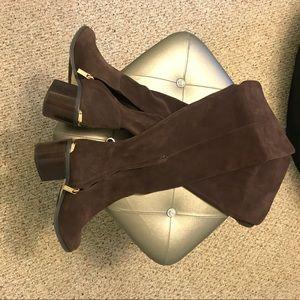 Never Worn Michael Kors Suede Boots